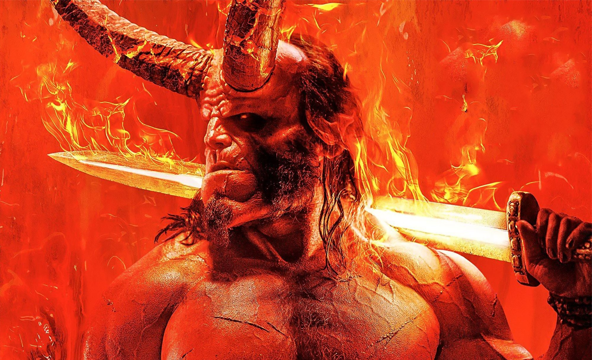 Hellboy is out in cinemas April 12th