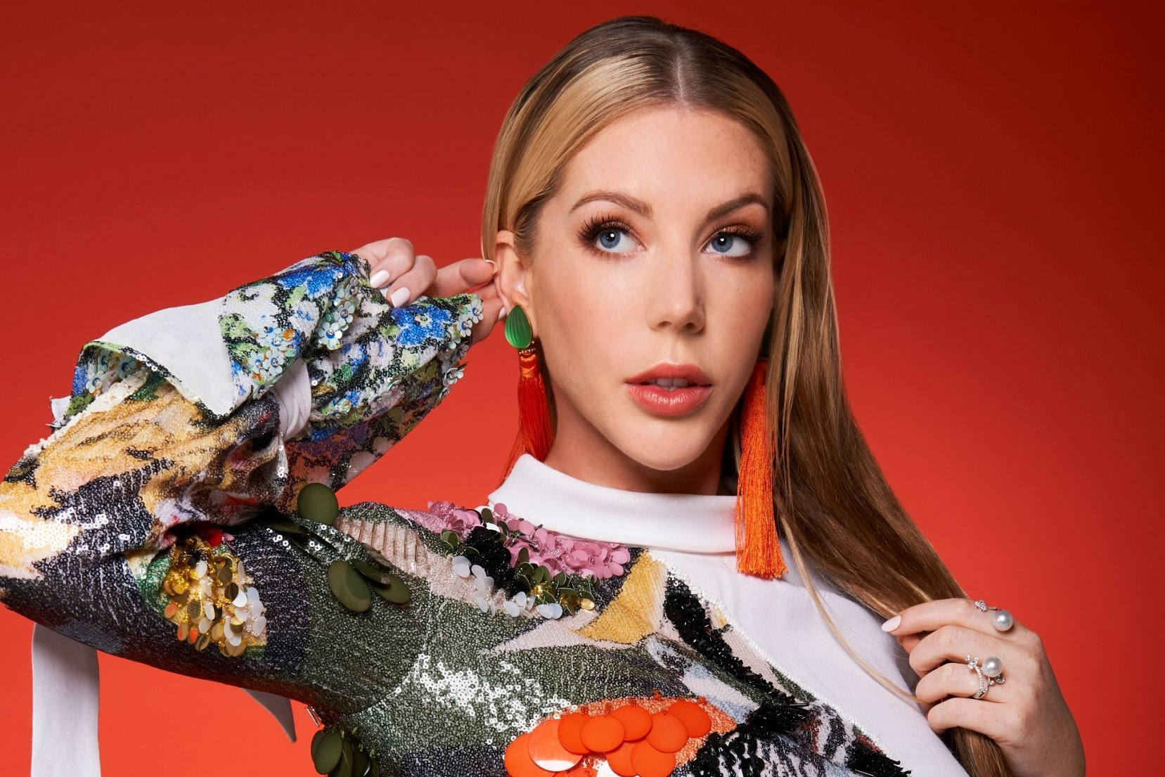Katherine Ryan, comedian featured on the red nose day celebrations