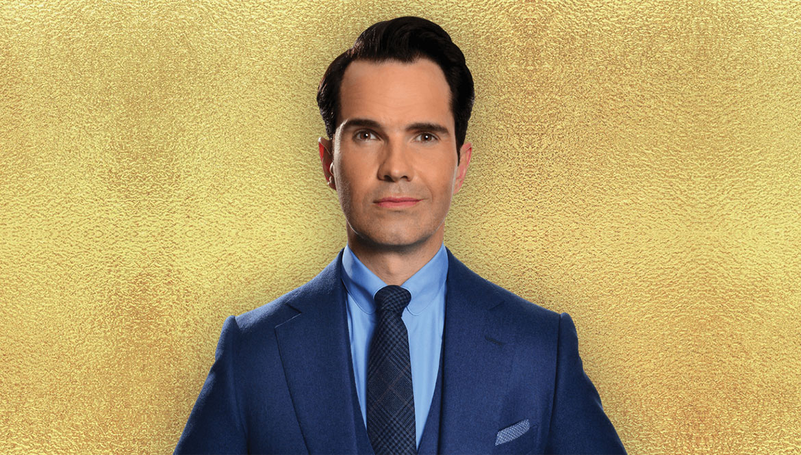 Jimmy Carr, comedian hosting red nose day celebrations