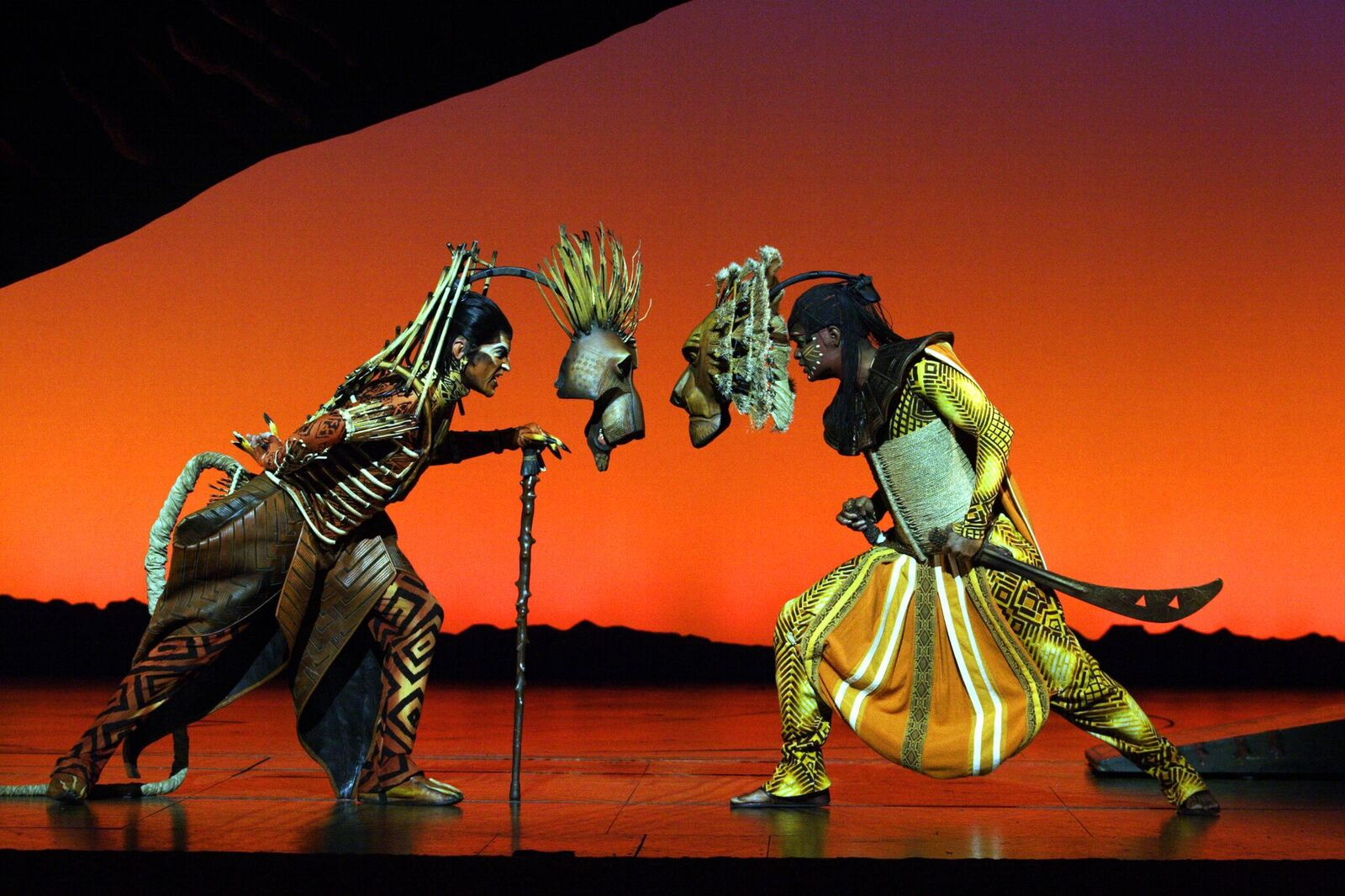 Disney's The Lion King showing now at the Lyceum