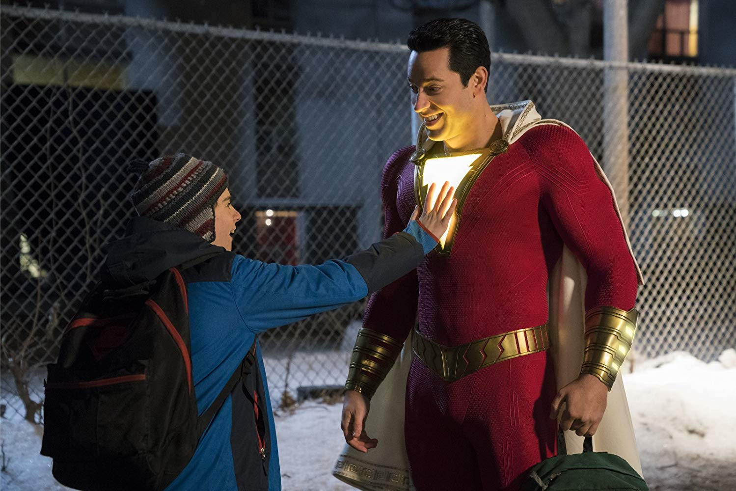 Shazam! is out in cinemas April 5th
