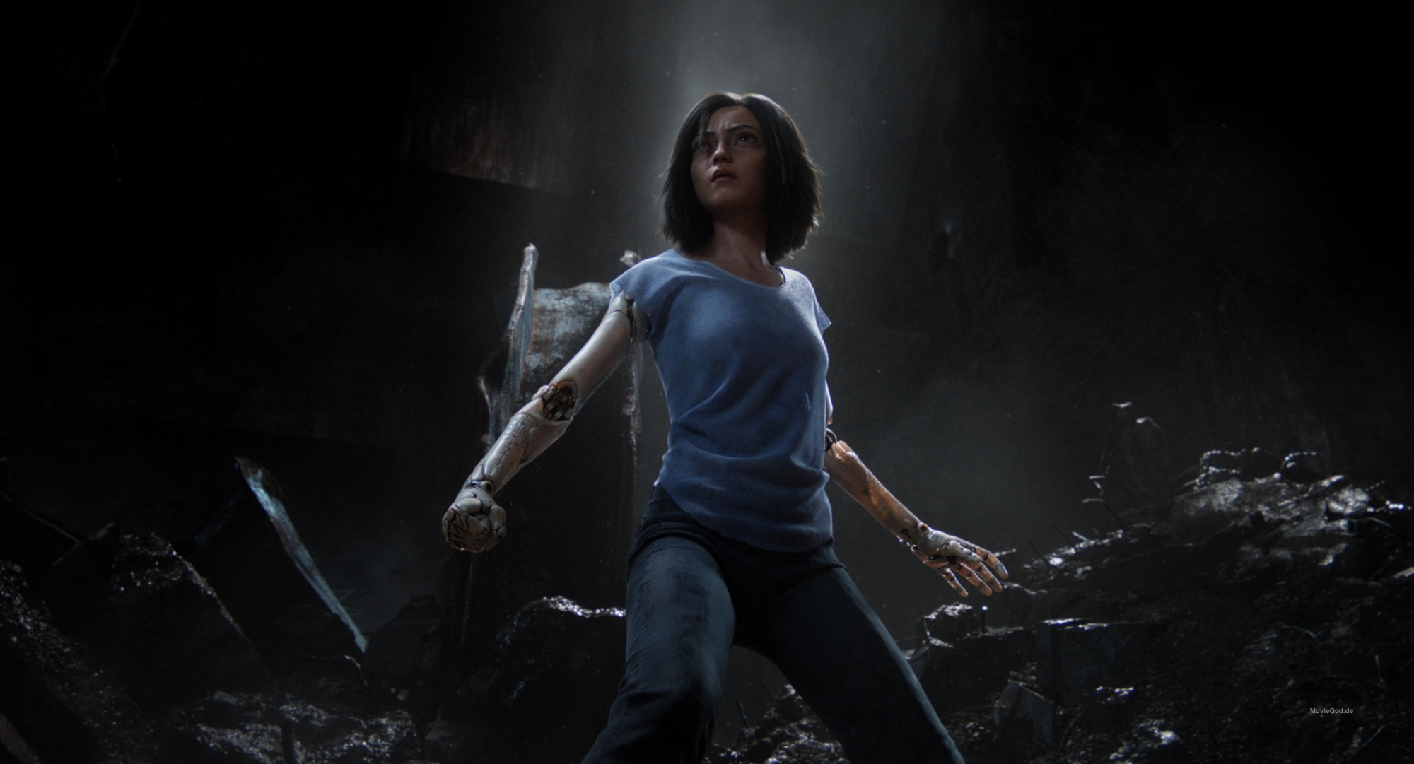 Alita: Battle Angel is due out February 6 in the UK