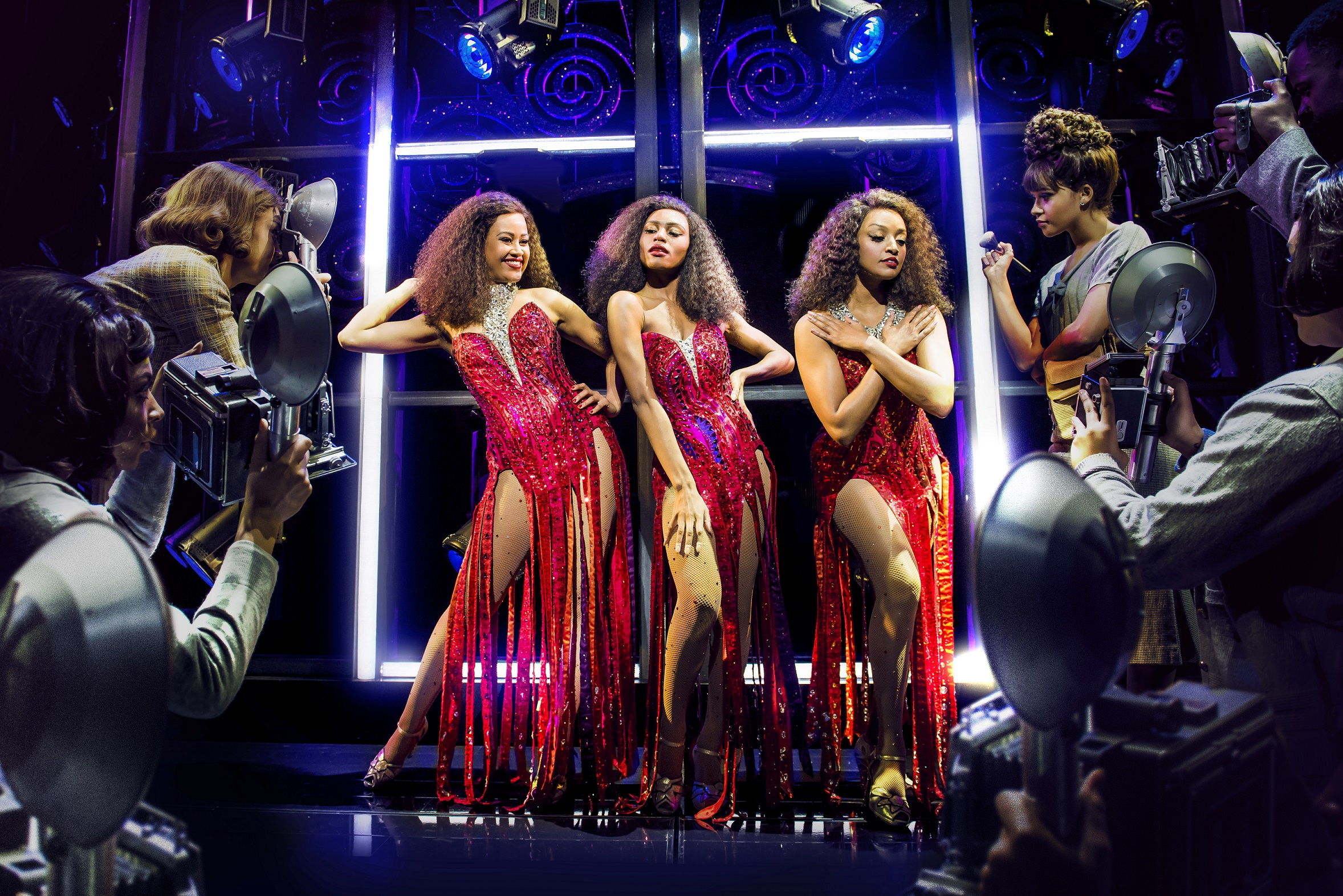 Dreamgirls production shot