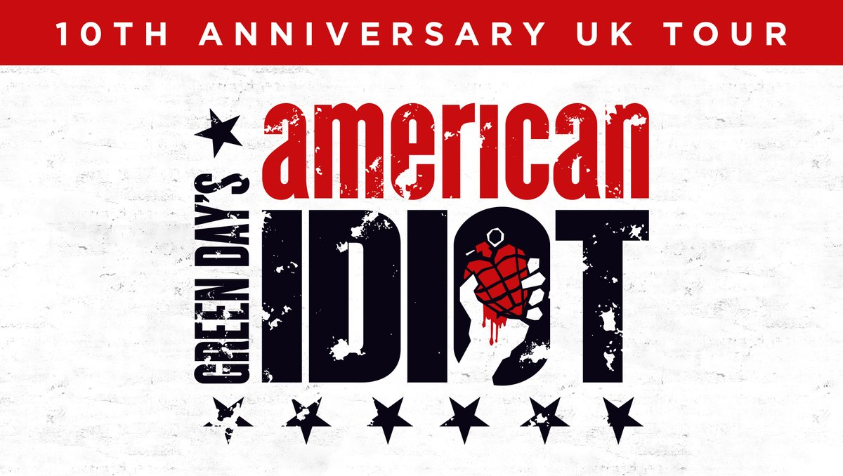 American Idiot returns in 2019 with a UK tour