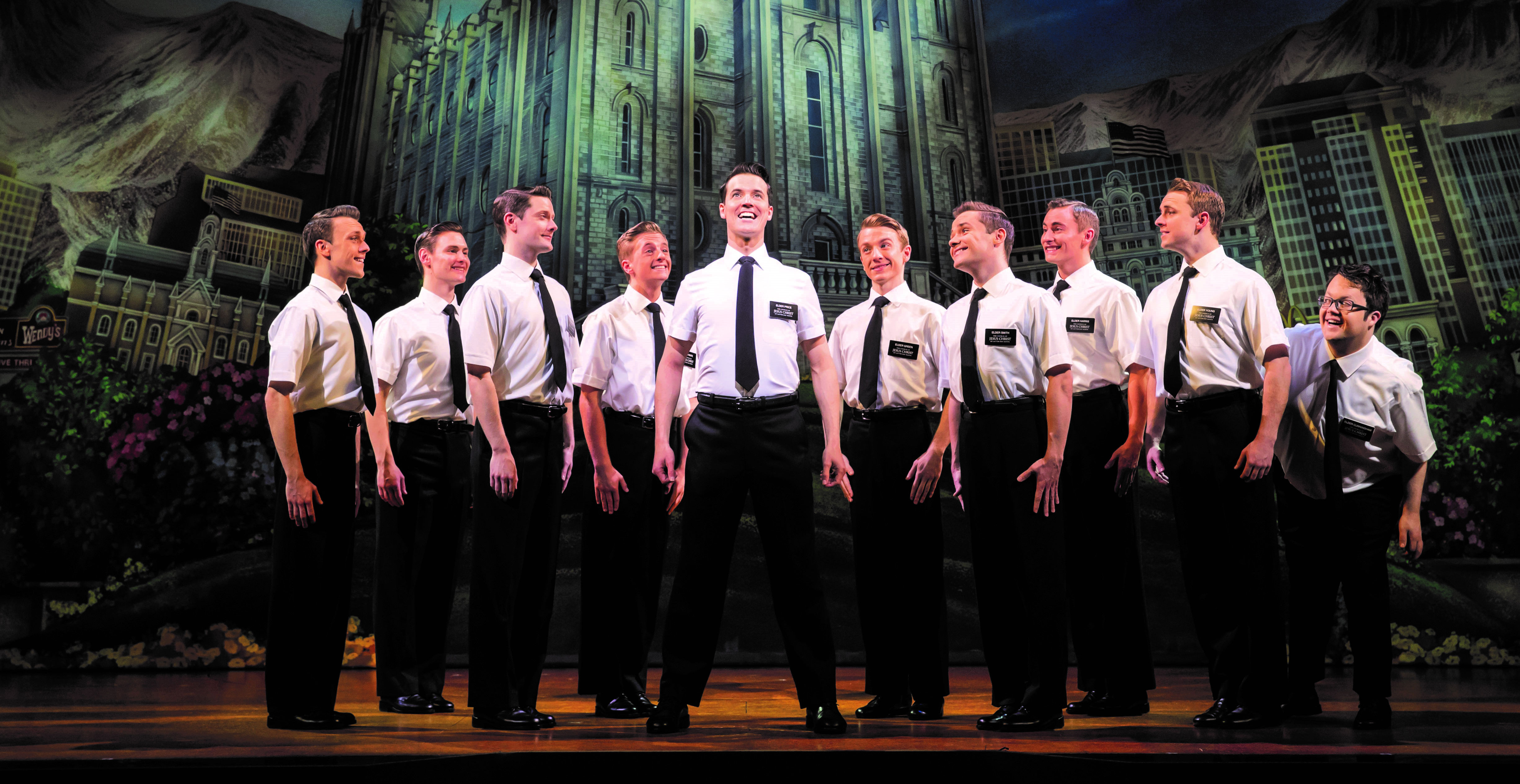 Book of Mormon production shot
