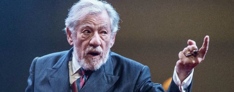 Ian McKellan as King Lear at the Duke of York's Theatre